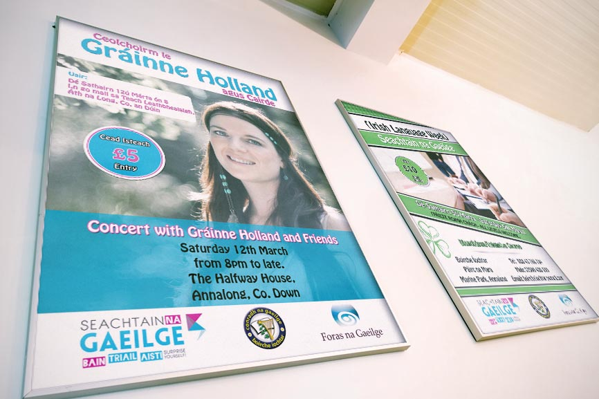 McCabe-Graphics-Web-Design-Newry-Seachtain-na-Gaeilge-Posters