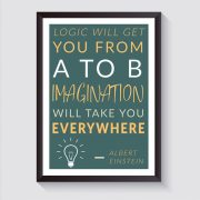 Einstein-Inspiration-A4-Poster-McCabe-Graphics-Newry