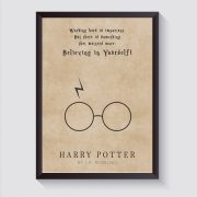 Harry Potter A4 Poster McCabe Graphics Newry