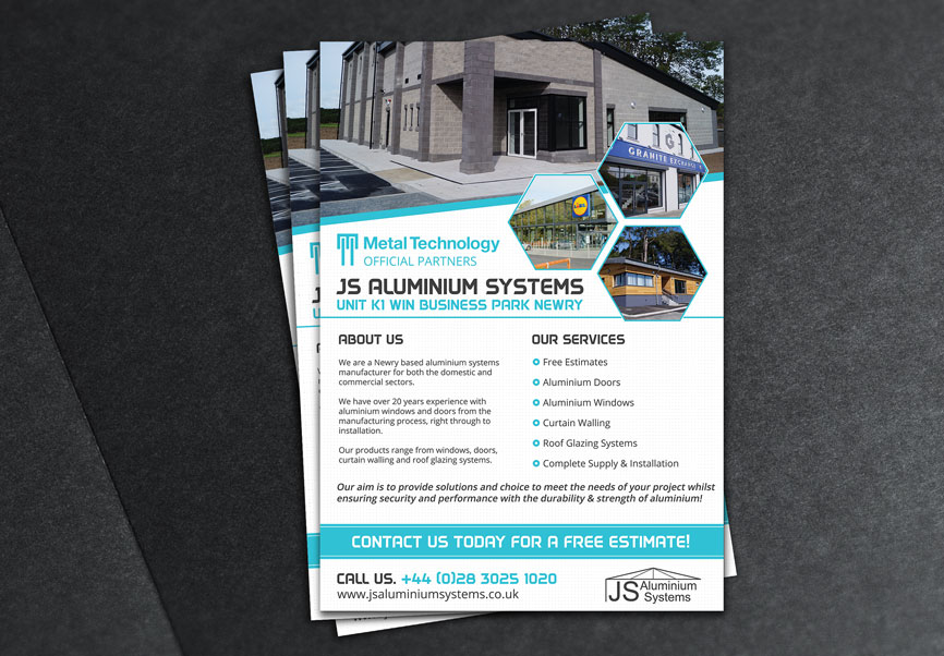 McCabe-Graphics-Newry-Graphics-and-Web-Design-JS-Aluminium-Systems-Newry